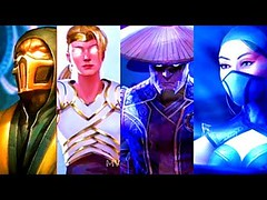 FULL MOVIE ALL CHARACTERS ENDINGS MORTAL KOMBAT 11 (MK11) Arcade Klassic Tower Endings
