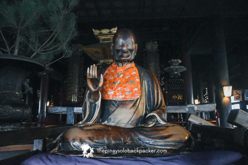 BINZURU IMAGE in Zenkoji Temple