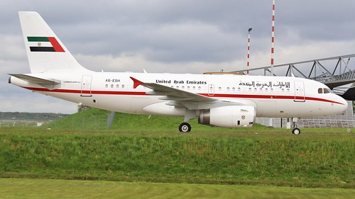 United Arab Emirates Gvmt _ A319-133(CJ) _ A6-ESH (@HAM 28.04.2019 | by Sebastian Lupp