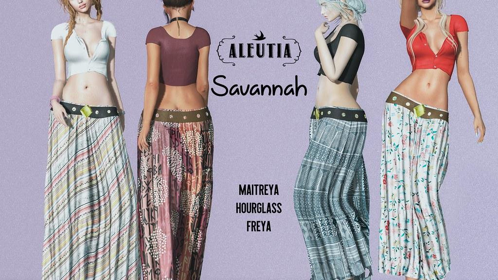 [Aleutia] Savannah – GiveAway!!
