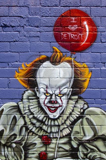 Pennywise - I ❤ Detroit