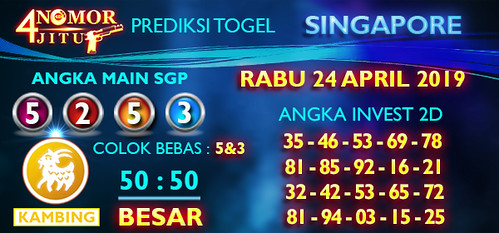 Bocoran Togel Singapore Rabu 24 April 2019