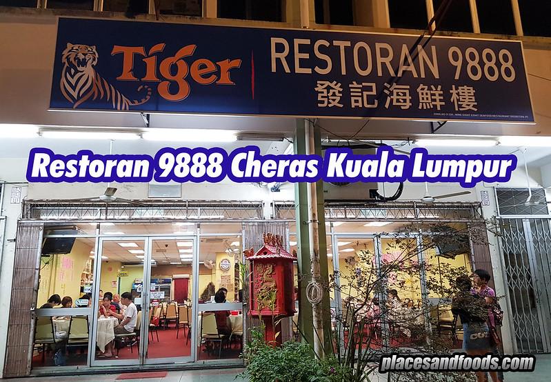 restoran 9888 cheras