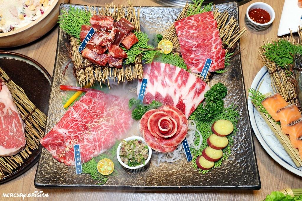 47673572101 acac43eaf4 b - 熱血採訪 雲火日式燒肉,一次吃齊和牛肋眼、嫩肩、板腱、牛舌六種部位,當月壽星優惠送甜點