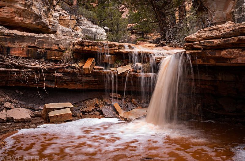 Side Canyon Waterfall