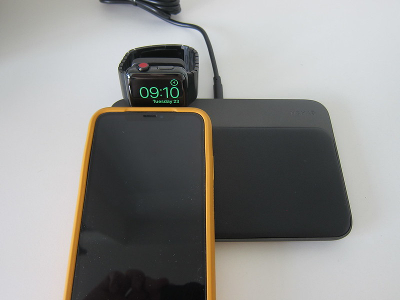 Nomad Base Station Apple Watch Edition - iPhone Left Not Working