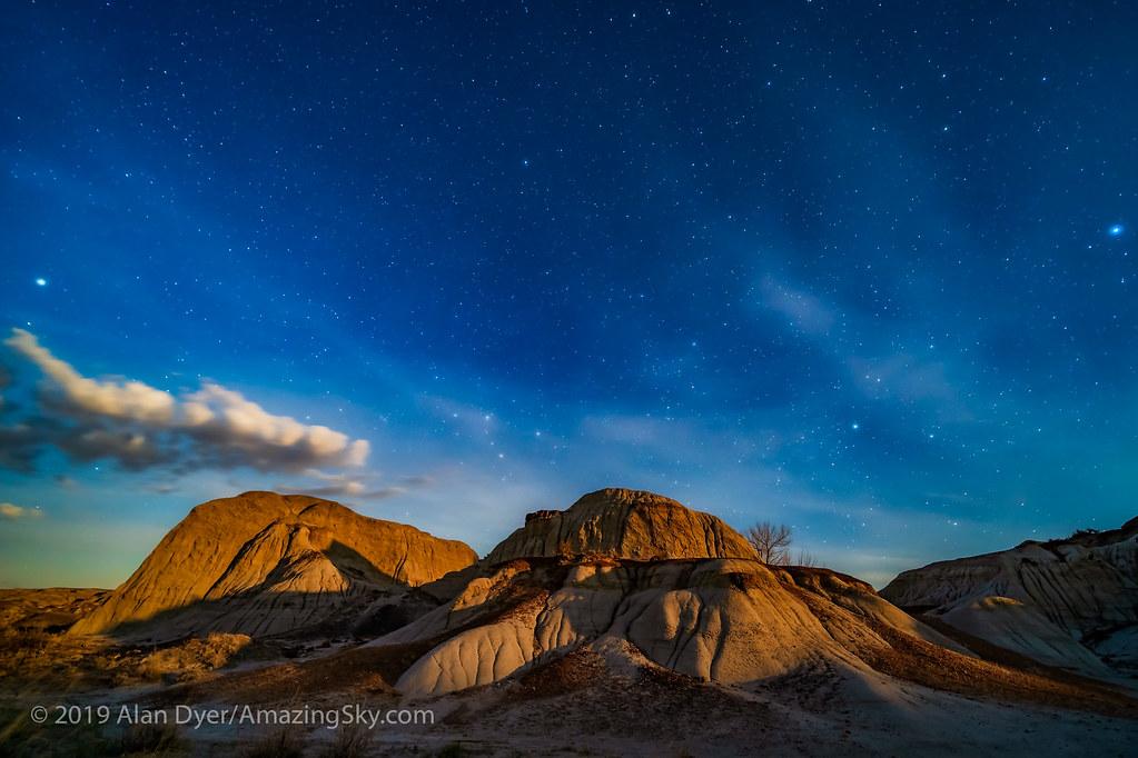 Moonrise Light at Dinosaur Park - North | The eroding format… | Flickr