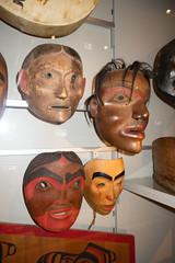Tsimshian wooden masks