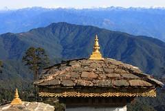 Dochula Pass 3050m en route Punakha (20)