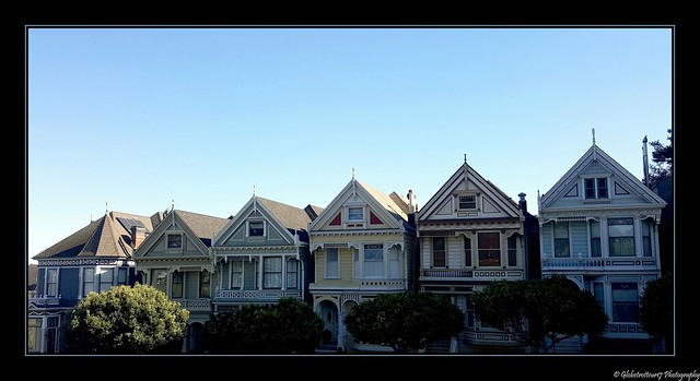 Painted Ladies- San Francisco- Californie- Etats-Unis.