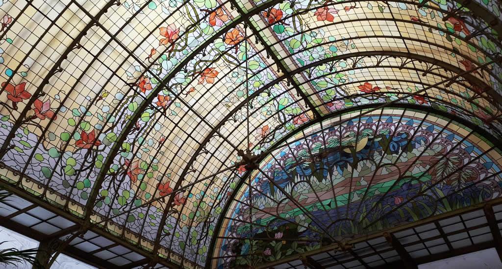 Art Nouveau, Wintertuin Ursulinen (België) | Mooistestedentrips.nl