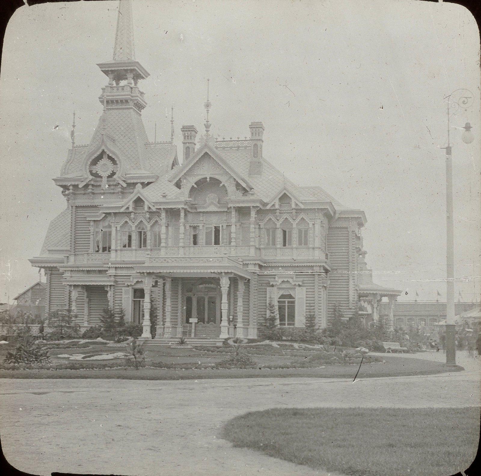 Нижний Новгород. Павильон на выставке 1896 года