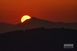 Bennachie sunset