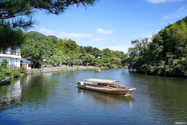 松江城堀川