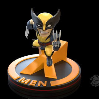 可愛又暴躁的狼叔!Quantum Mechanix Q-Fig 系列 Marvel Comics【金鋼狼】Wolverine Q-Fig Diorama