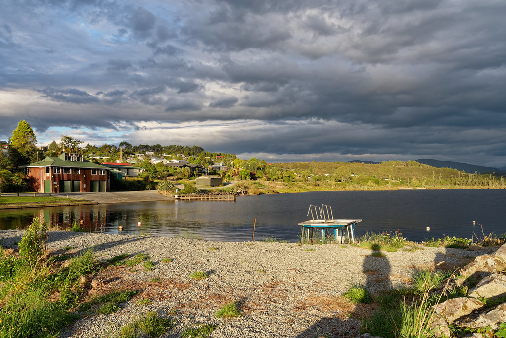 After the Rain, Lake Brunner, NZ