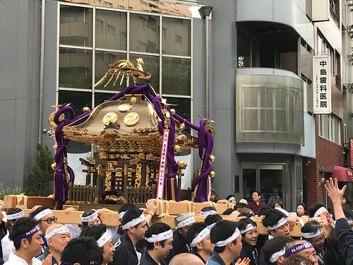 天皇陛下御即位三十年の御神輿 2019/4/29