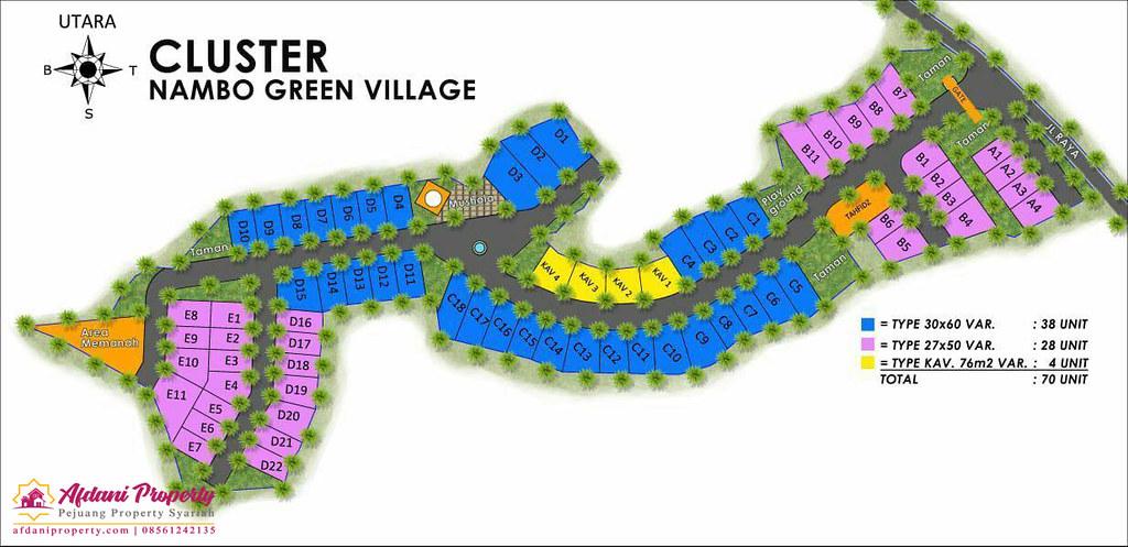 Siteplan Nambo Green Village