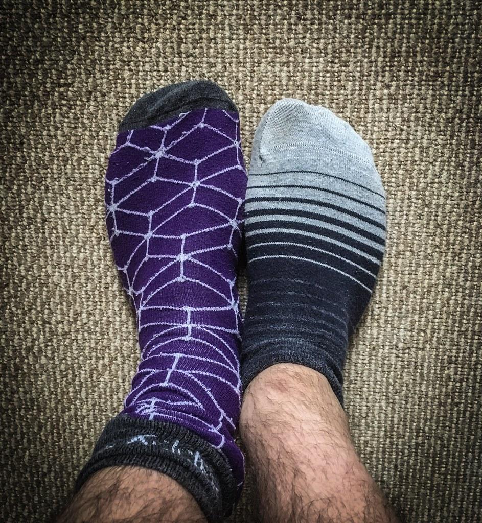 Odd socks, for Roy