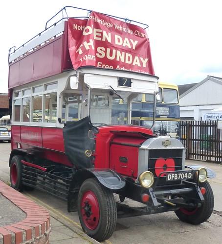 DFB 704D 'London General Omnibus Company'. AEC 'B' type /3 on Dennis Basford's railsroadsrunways.blogspot.co.uk