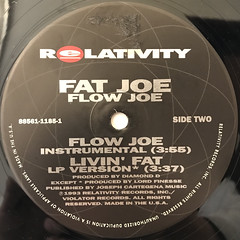FAT JOE:FLOW JOE(LABEL SIDE-B)
