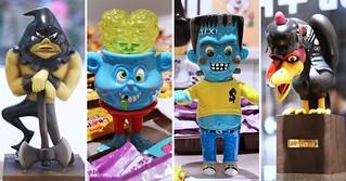 玩具探險隊【Knuckle's Monsters Fan Club+ with Johnny】雙人聯展 at The Little Hut 現場報導!!