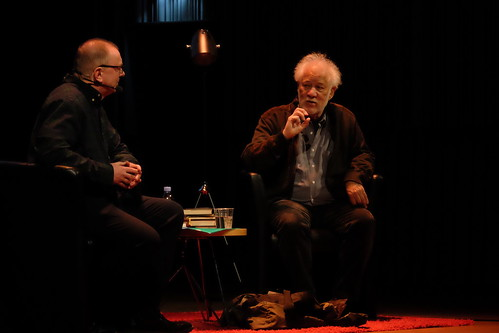 Mats Granberg och Michael Ondaatje