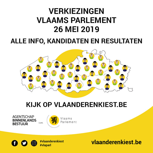 Verkiezingen Vlaams Parlement 2019