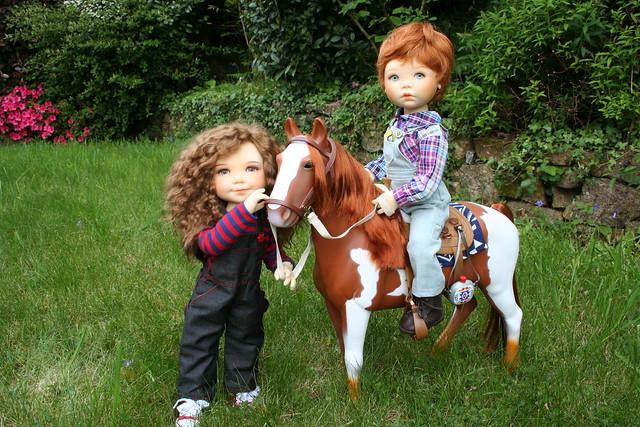 la leçon d'équitation