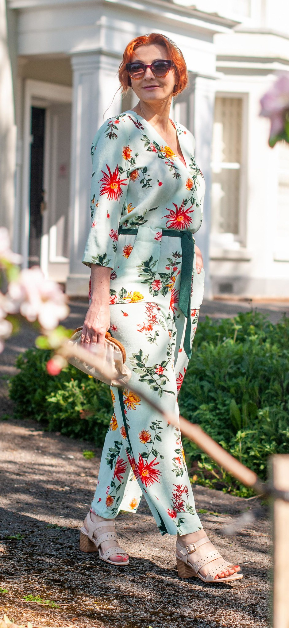 Over 40 Fashion: The Jumpsuit and Nude Sandals All Your Weddings and Garden Parties Can't Do Without This Summer | Not Dressed As Lamb