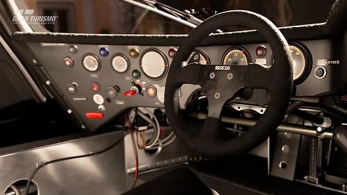 Porsche 962 C '88 Cockpit
