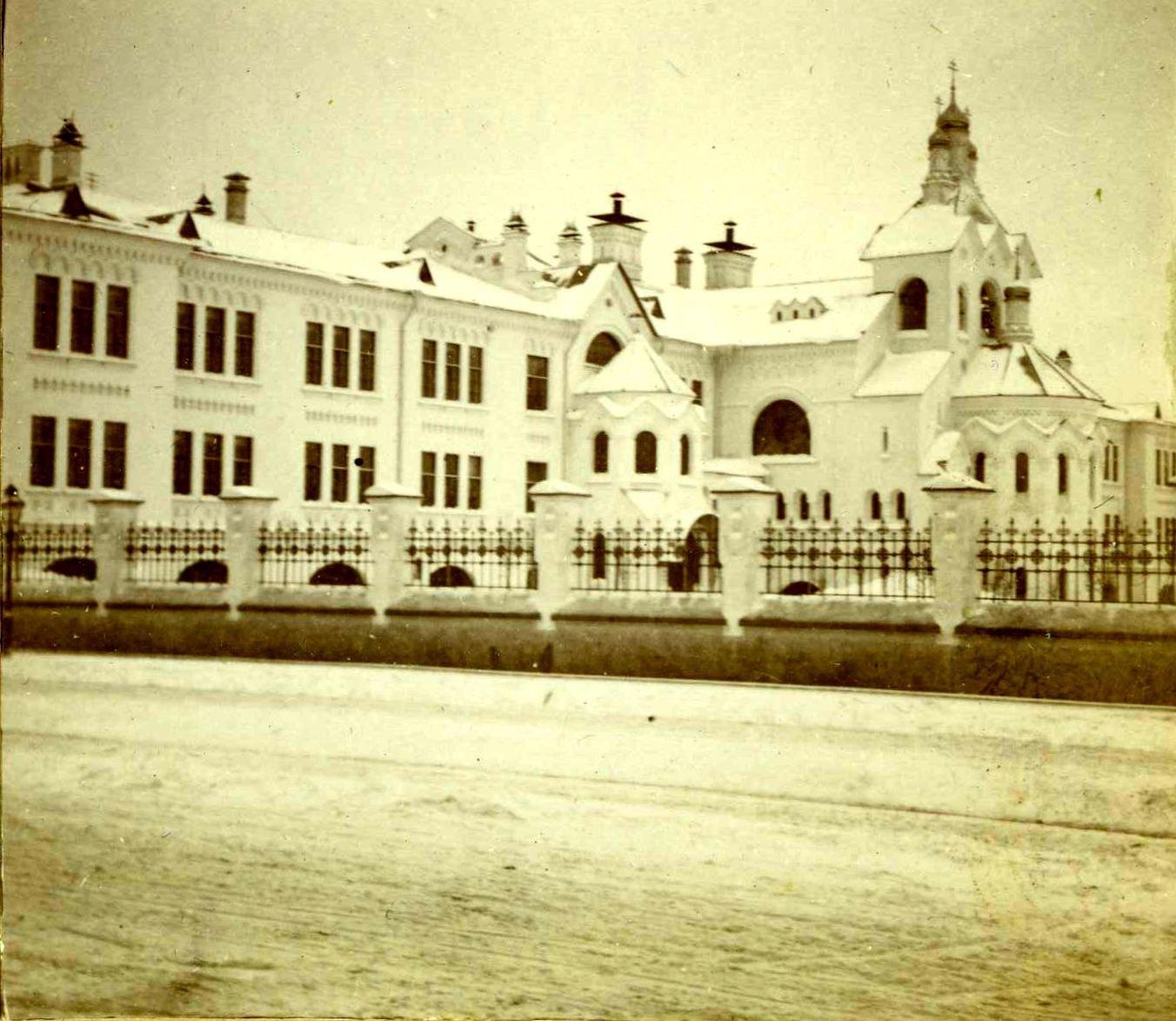 Третьяковская богадельня. 1908