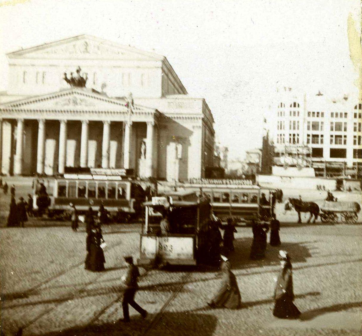 Театральная площадь. 1907