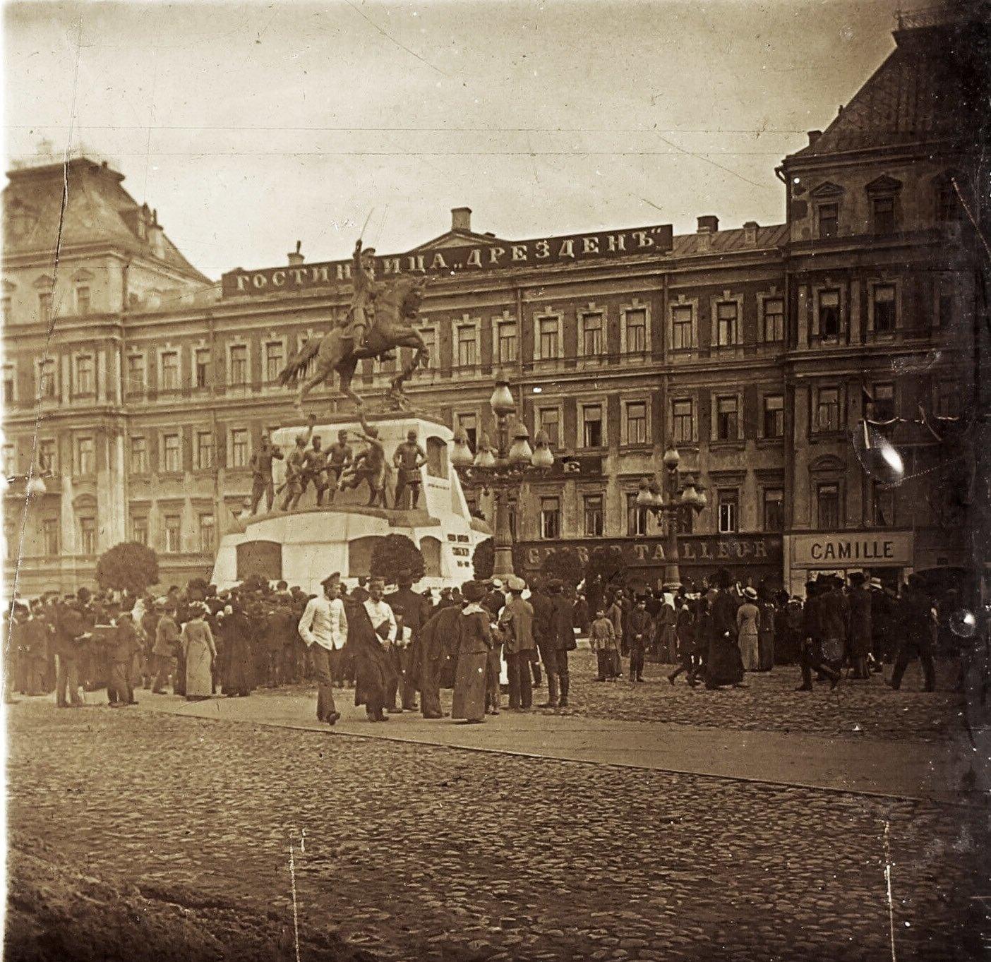 Тверская площадь. 1912