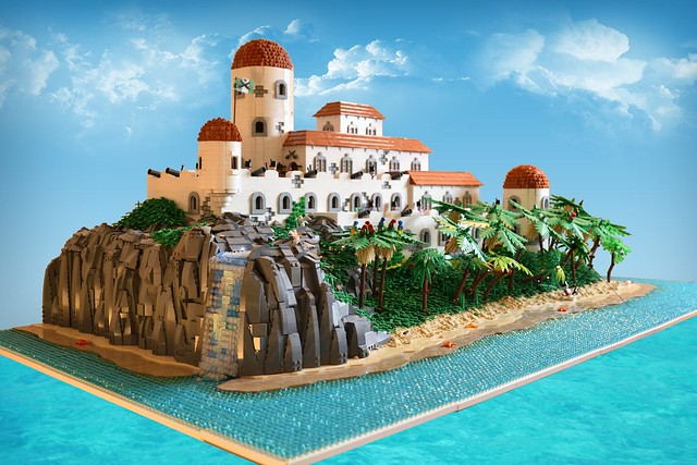 LEGO Pirates Tropical Island Fortress
