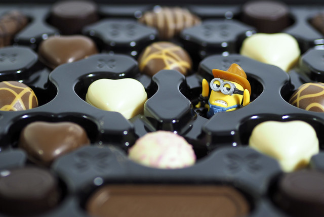Life is like a box of chocolates, you never know what you're going to get.