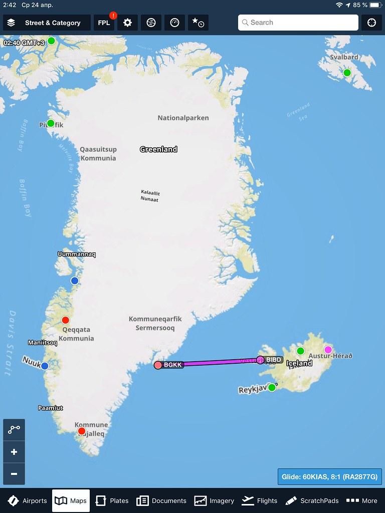 Гренландия-Исландия