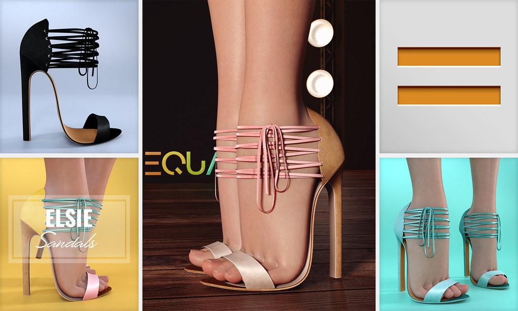 EQUAL – Elsie Sandals