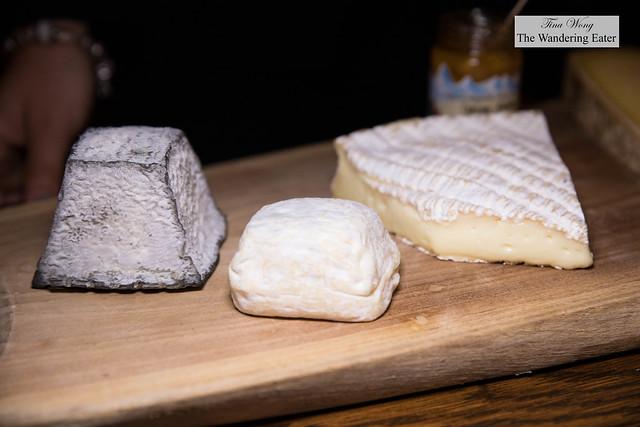 Valencay, Chevre D'argental, Brie