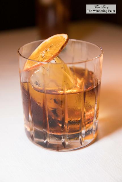 Harvard Old Fashioned - Martell VSOP, Mancino Secco, Maraschino Liqueur