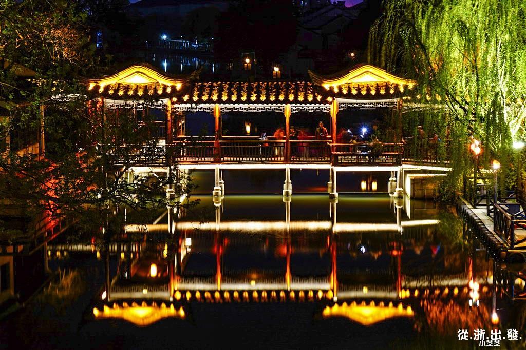 南潯古鎮夜景
