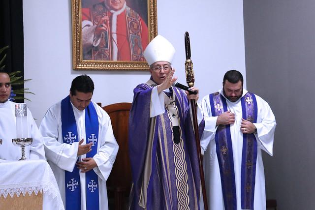 Inauguración de la iglesia San Juan XXIII