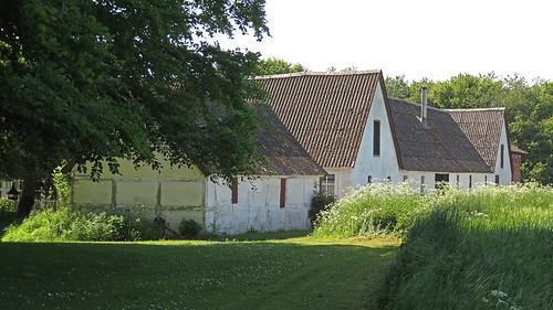 Farm house at Stevns Klint in Denmark