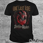 Dustin Rhodes One Last Ride shirt