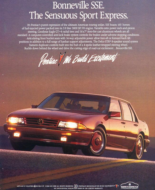 1988 Pontiac Bonneville SSE
