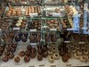 The display case at Kilwin's Chocolates