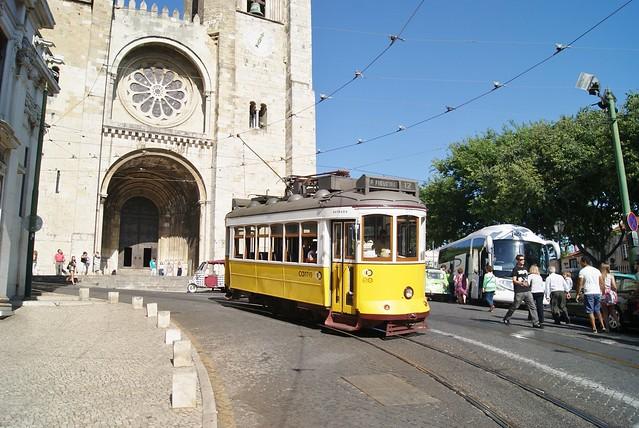 Tram 545 de Lisbonne (Portugal)