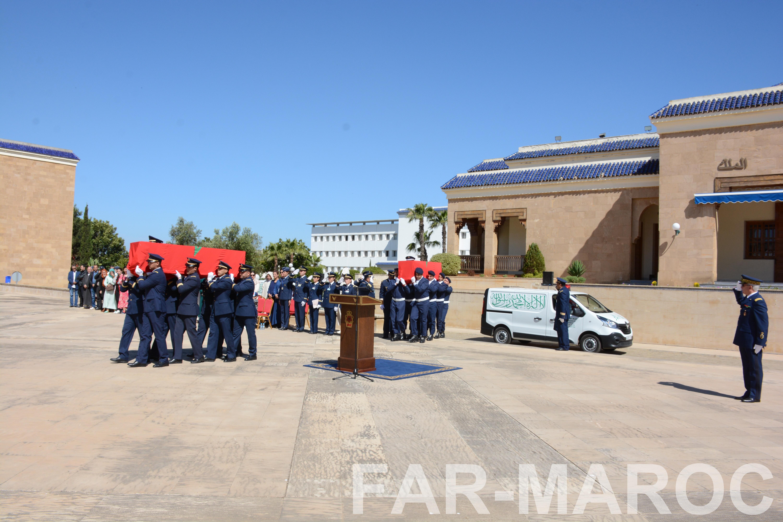 Funérailles de feu le lt colonel Najib El Hadrati et du A/C Hassan Tazi 47684316352_57e4c9a685_o