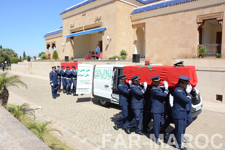 Funérailles de feu le lt colonel Najib El Hadrati et du A/C Hassan Tazi 47684494912_20880ff64d_o