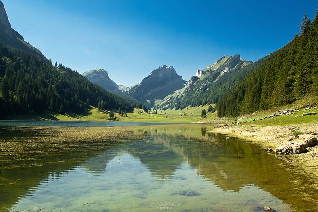 Sämtisersee, Alpstein Switzerland